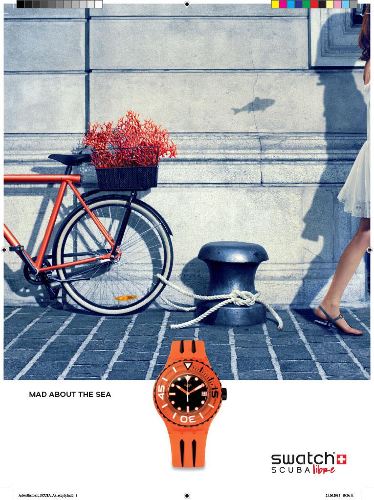 Swatch Cosmopolitan & Esquire Ad 1