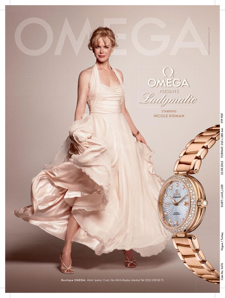 Omega Vogue Ad 1