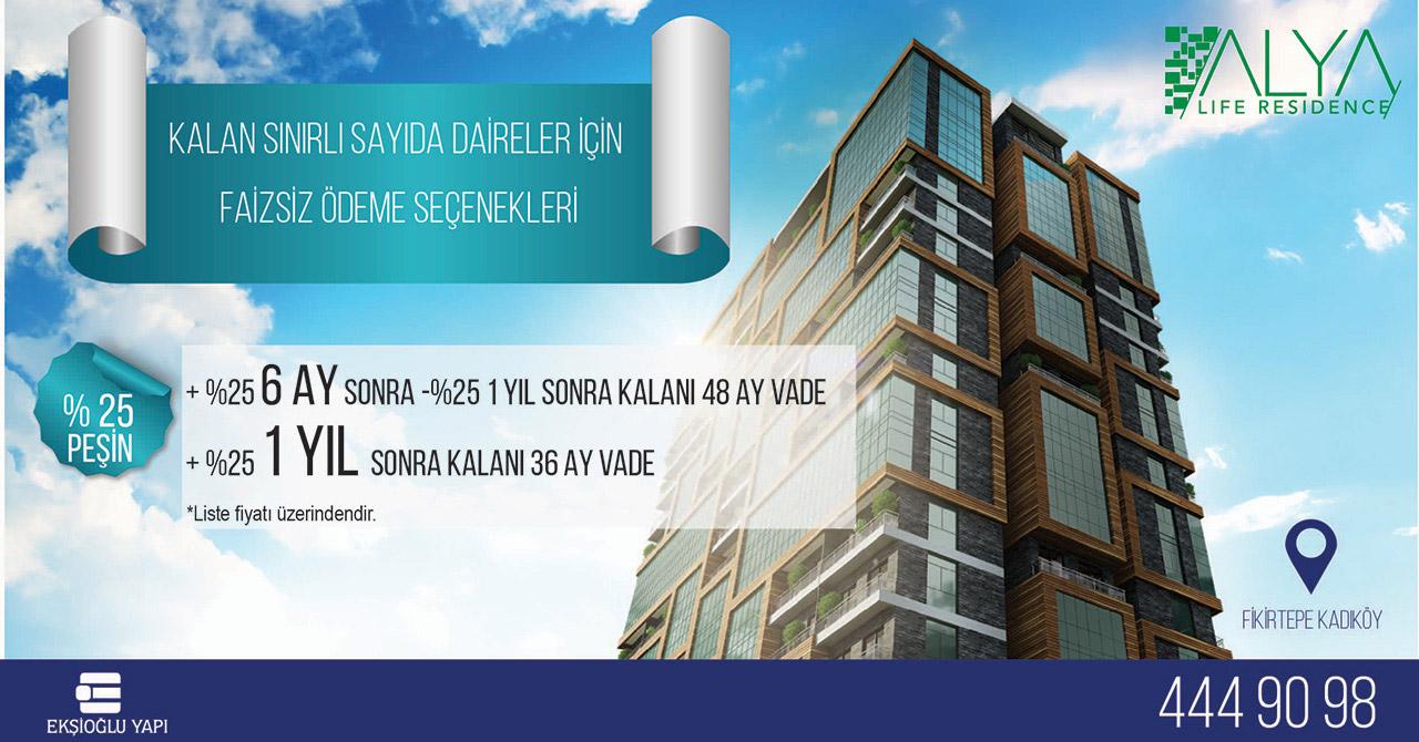 Ekşioğlu - Alya Life Residence 1