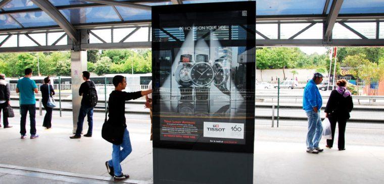 Tissot Outdoor Ad 1