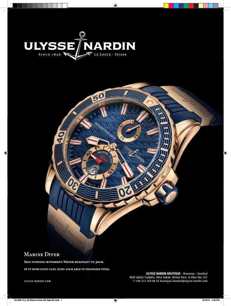 Ulysse Nardin Ad 1